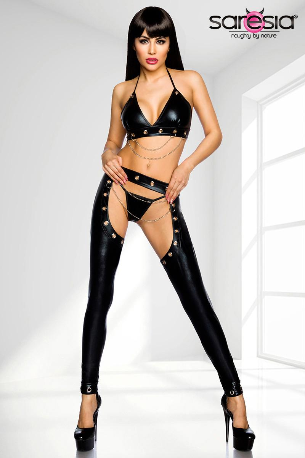 3 Piece Wetlook Set