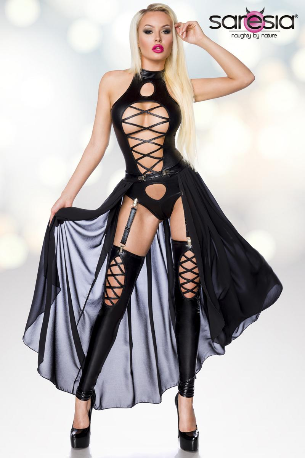 Wetlook 3 Piece dress