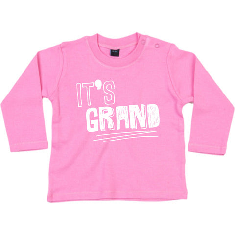 It's Grand! Pink long sleeve T
