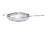Stainless Steel 11.5 Inch Fry Pan - 360 Cookware