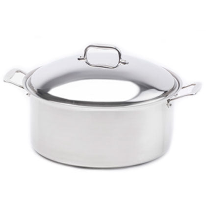 Stainless Steel 12 Quart Stock Pot with Cover - 360 Cookware 360 Cookware