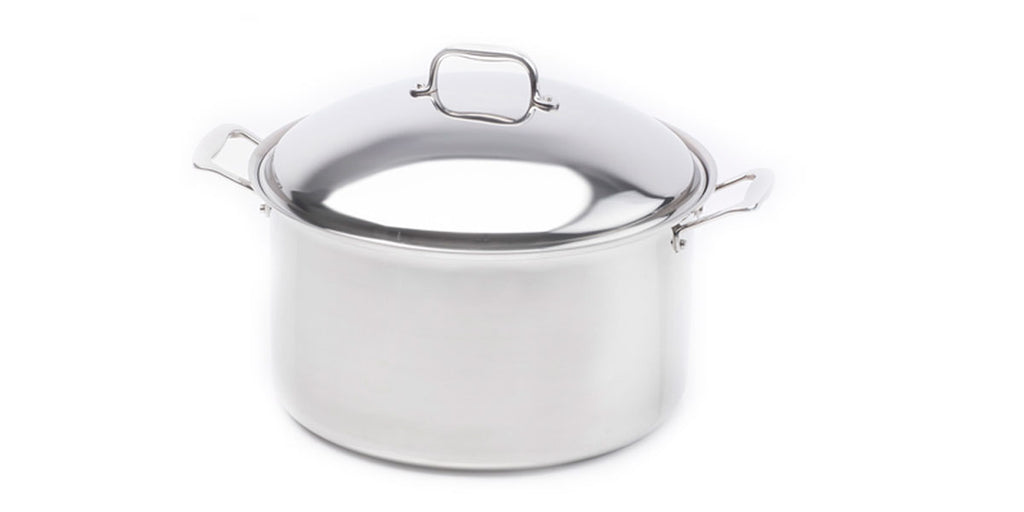 Stainless Steel 16 Quart Stock Pot with Cover - 360 Cookware 360 Cookware