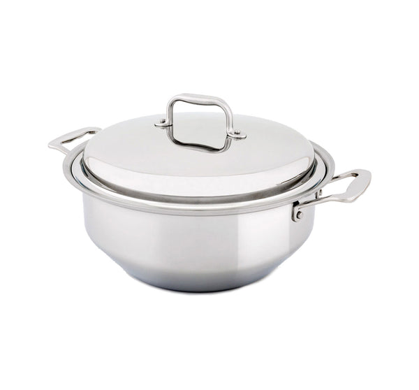 6 Quart Gourmet Stainless Steel Stockpot with Cover - 360 Cookware 360 Cookware