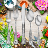 American Garden-65 Piece Set - Flatware 360 Cookware