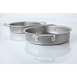 "9"" Round Stainless Steel Cake Pan - 360 Bakeware 360 Cookware"
