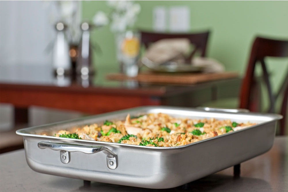 9 Quot X 13 Quot Stainless Steel Bake Amp Roast Pan 360 Cookware