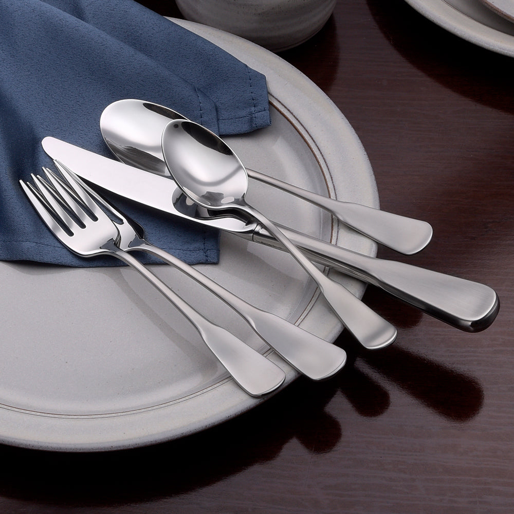 Candra- 45 Piece Set - Flatware 360 Cookware
