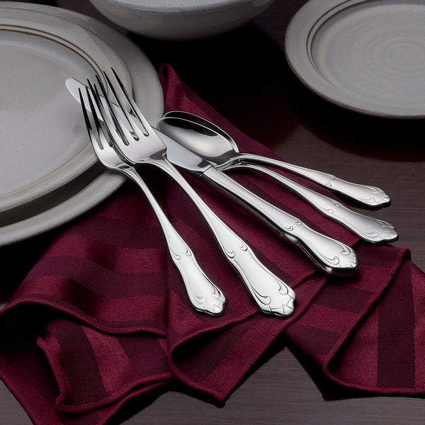 Champlin- 65 Piece Set - Flatware 360 Cookware