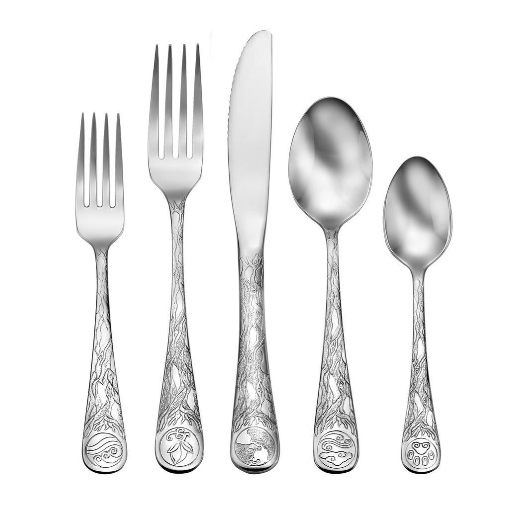 Earth - 65 Piece Set - Flatware 360 Cookware