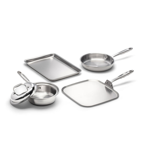5- Piece Breakfast Cookware Set - 360 Cookware 360 Cookware