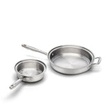 The Essentials PLUS Stainless Steel Cookware Set - 360 Cookware 360 Cookware