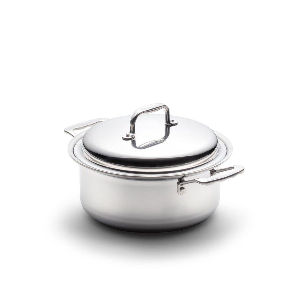 Stainless Steel 4 Quart Stockpot with Cover - 360 Cookware 360 Cookware