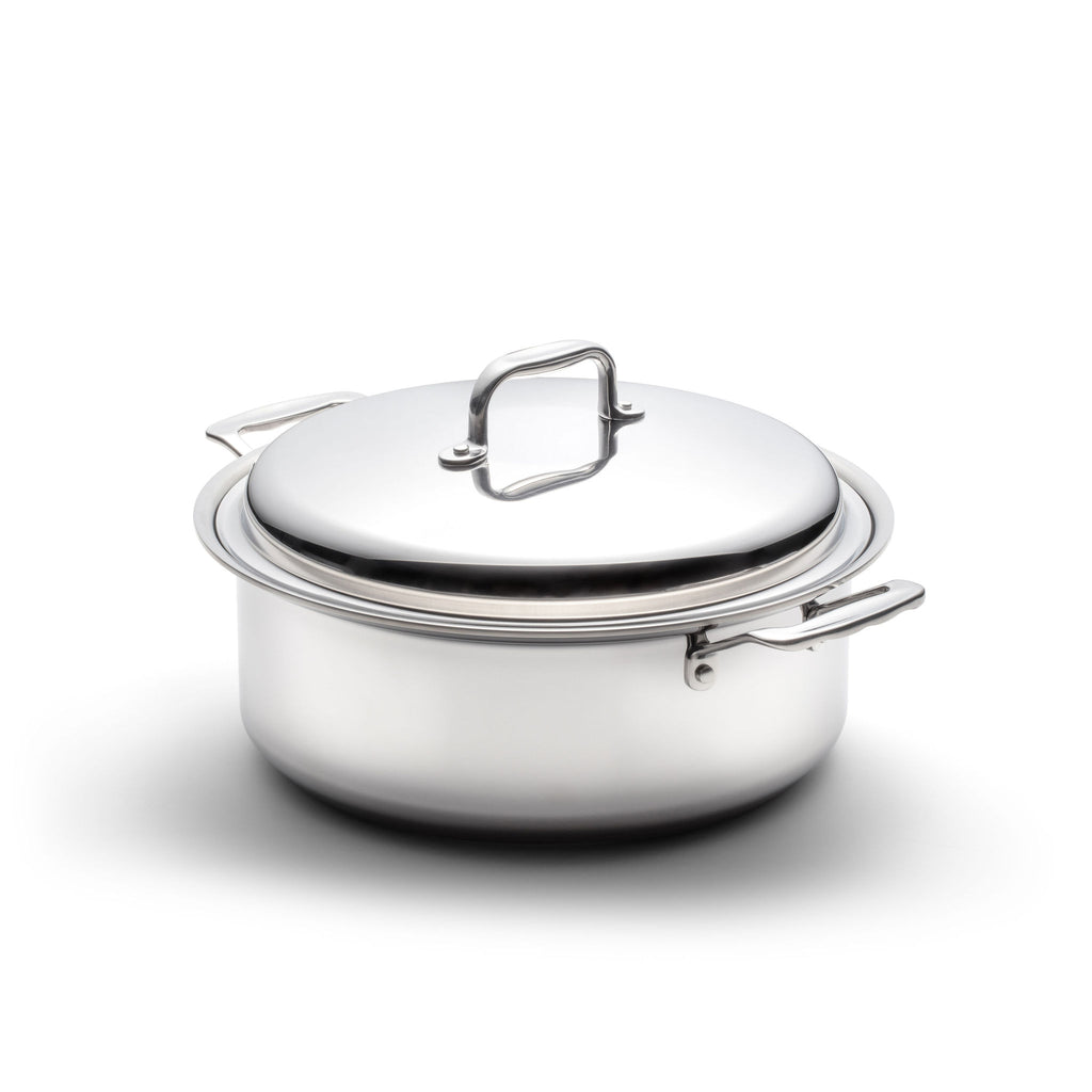 Stainless Steel 6 Quart Stockpot with Cover - 360 Cookware