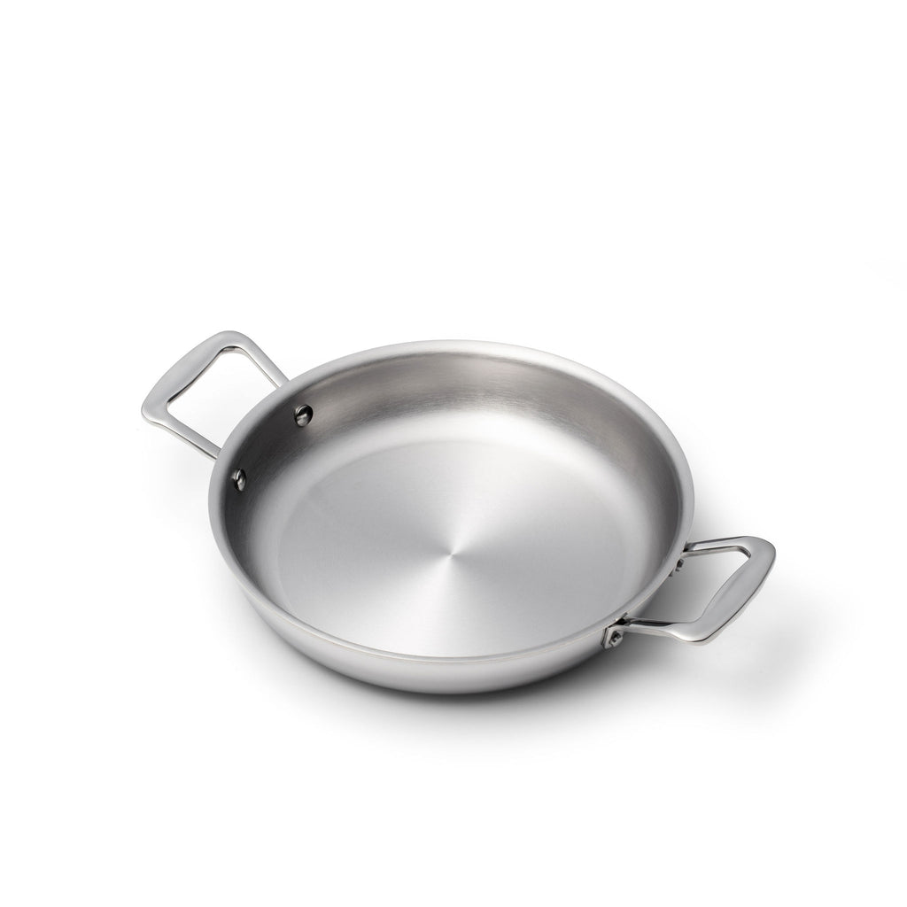 **New** Stainless Steel 10 Inch Fry Pan with Side Handles - 360 Cookware 360 Cookware