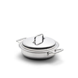 Stainless Steel 2.3 Quart Gourmet Slow Cooker Casserole with Cover - 360 Cookware 360 Cookware