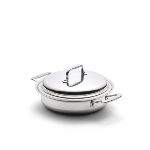 Stainless Steel 2.3 Quart Casserole with Cover - 360 Cookware 360 Cookware
