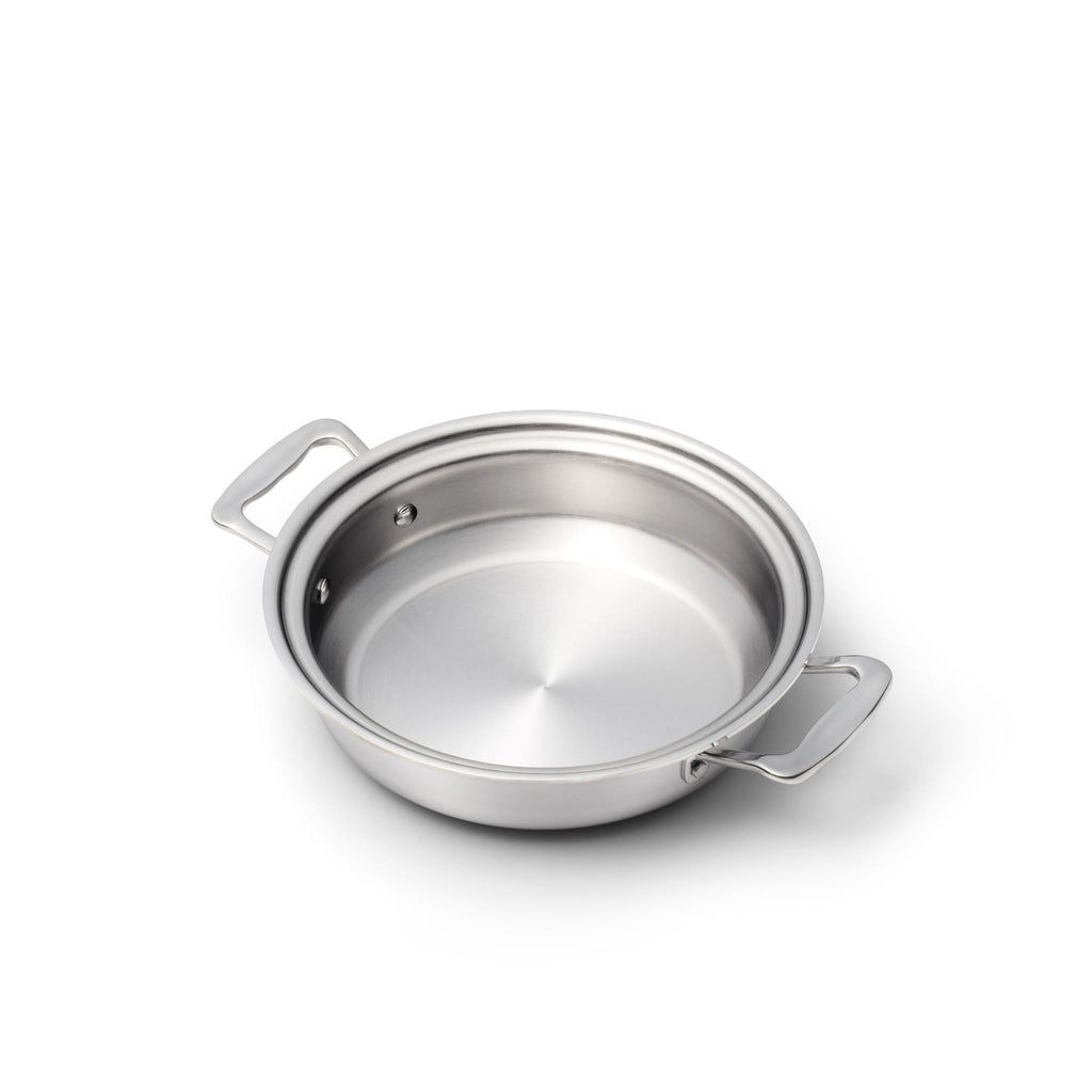 Stainless Steel 2.3 Quart Gourmet Slow Cooker Casserole with Cover - 360 Cookware