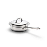 Stainless Steel 2 Quart Sauté Pan with Cover - 360 Cookware 360 Cookware