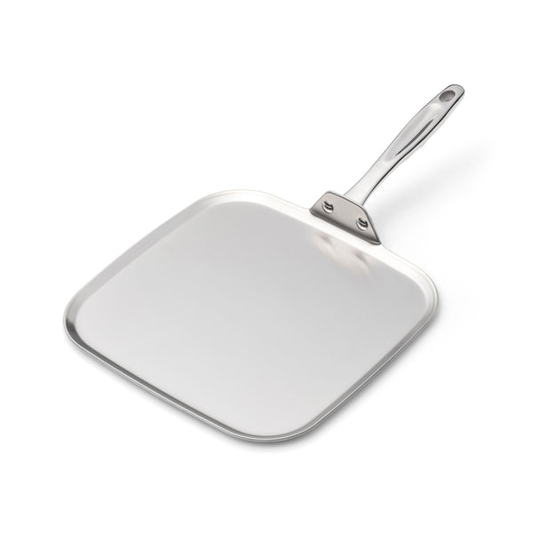 Stainless Steel Square Griddle - 360 Cookware 360 Cookware