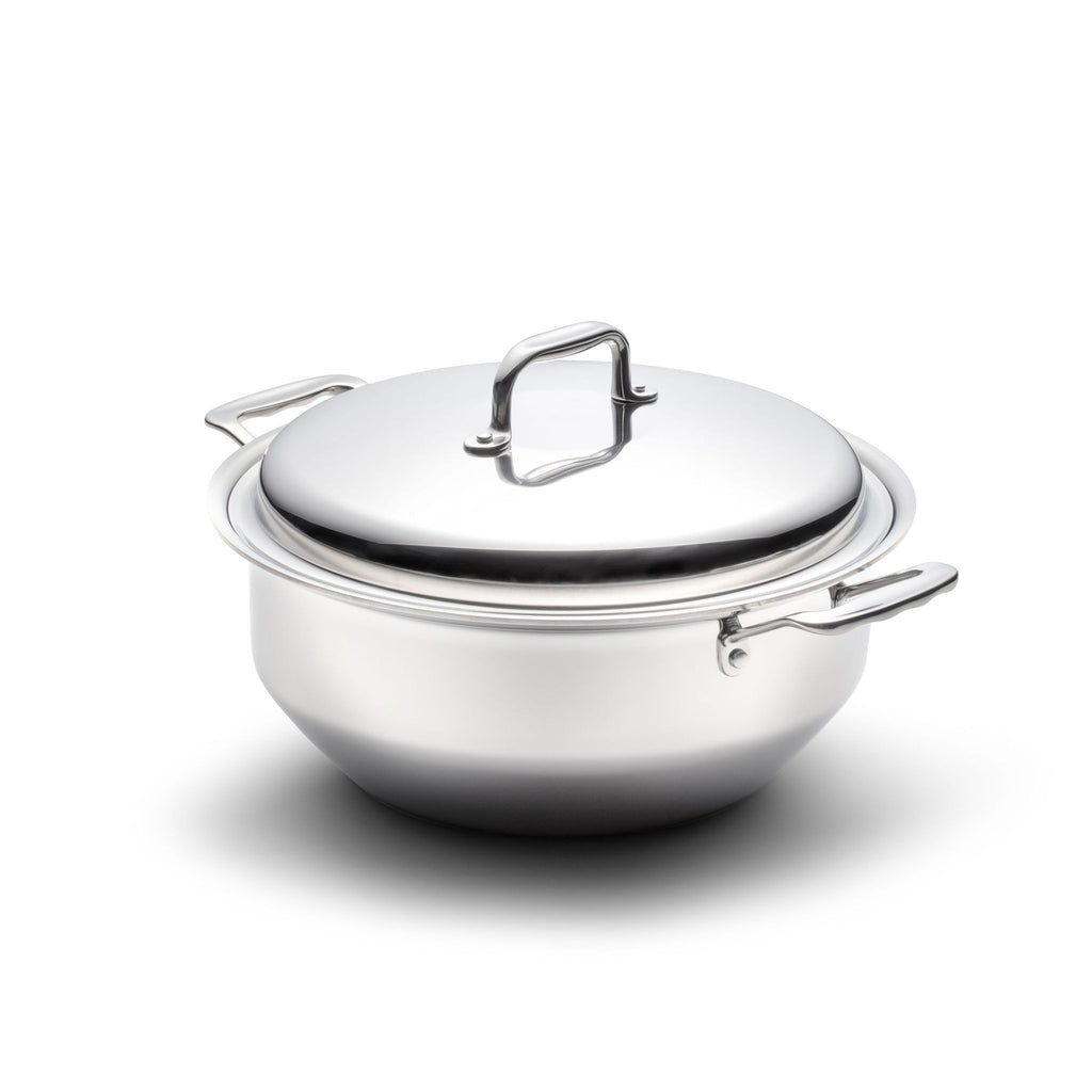 **New Item** 6 Quart Gourmet Stainless Steel Stockpot with Cover - 360 Cookware 360 Cookware