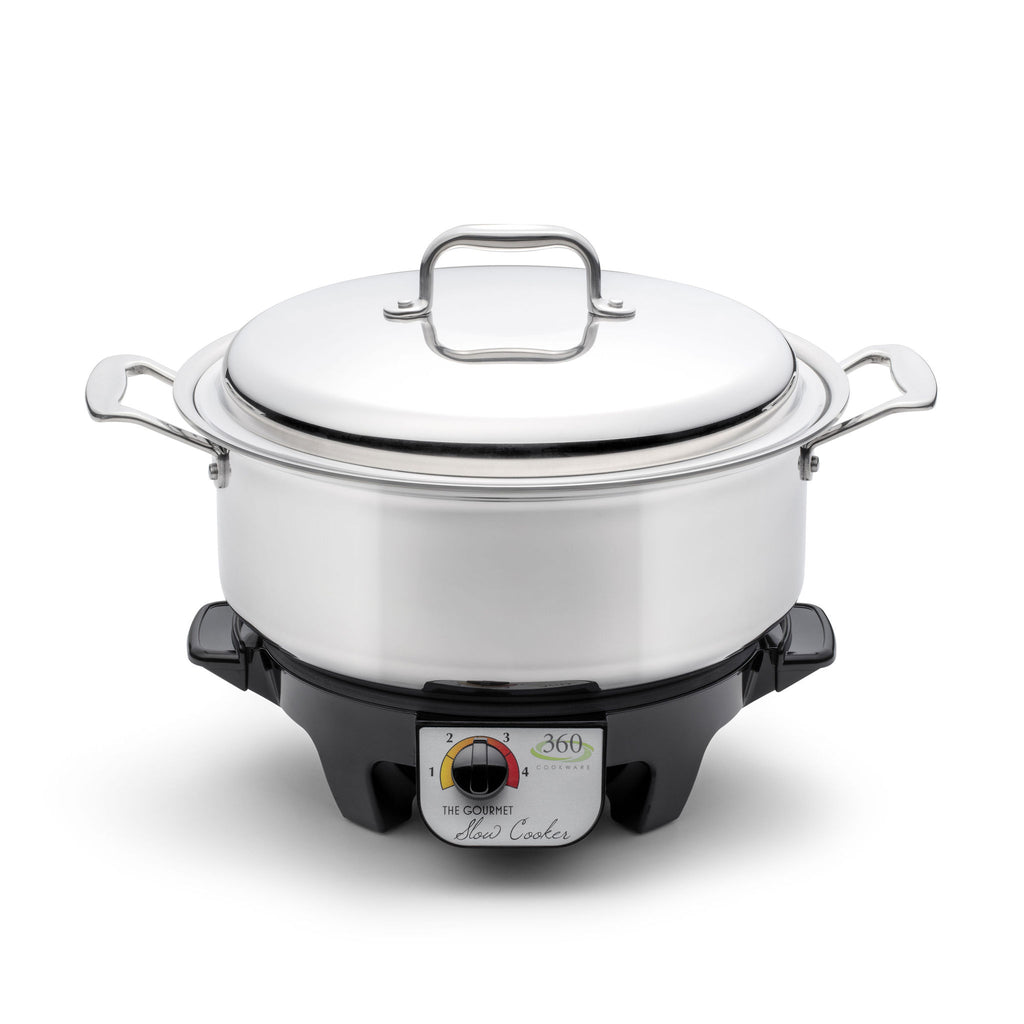6 Quart Slow Cooker Set - 360 Cookware