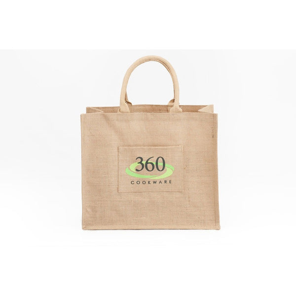 Jute Grocery Bag | Large - 360 Cookware 360 Cookware
