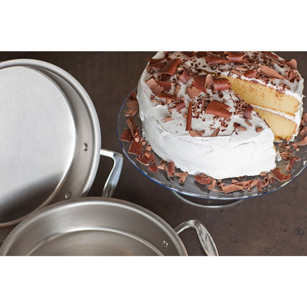 "9"" Round Stainless Steel Cake Pan"