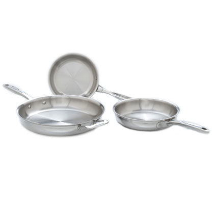3- Piece Fry Pan Set - 360 Cookware