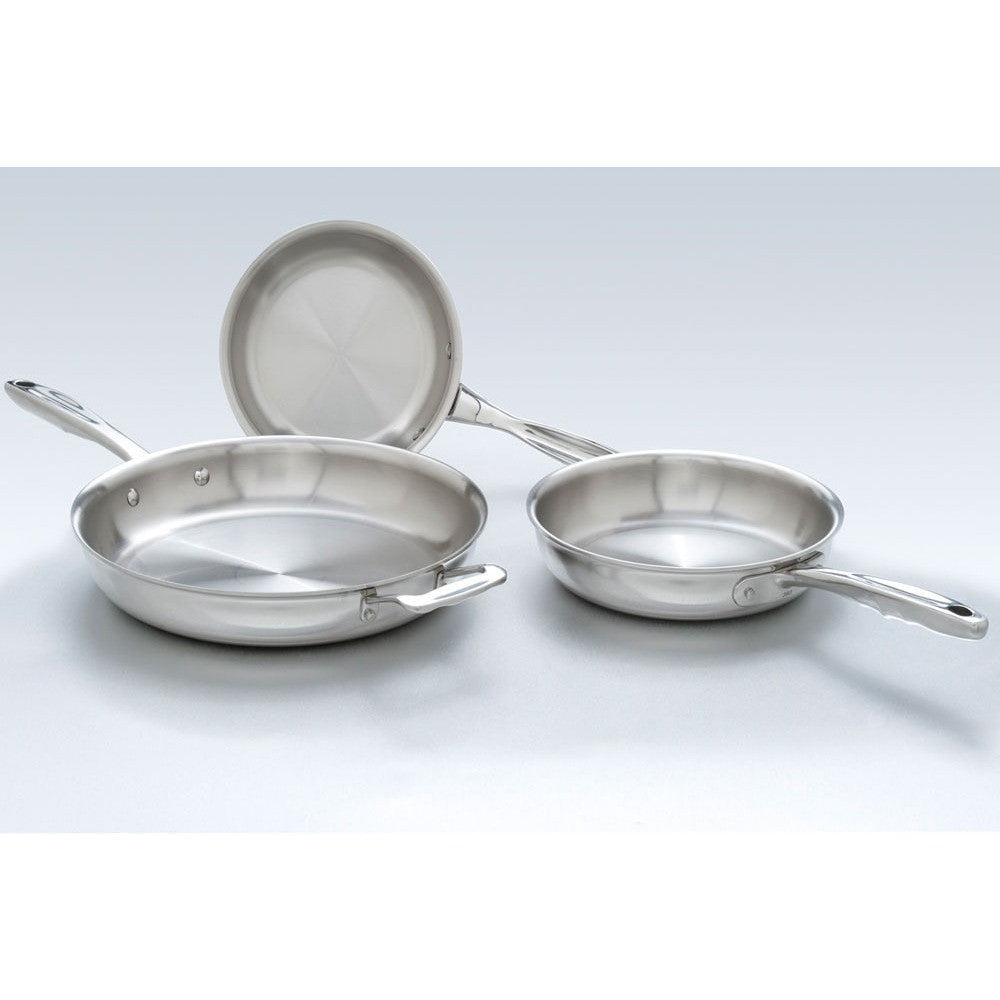 Stainless Steel Fry Pan Set - 360 Cookware 360 Cookware