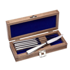 Modern America - Steak Knife Set Of 12 With Chest - Flatware 360 Cookware