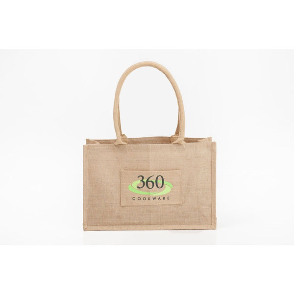 Jute Grocery Bag | Small - 360 Cookware 360 Cookware