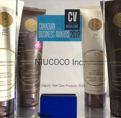 NIUCOCO Wins Best Organic Hair Care Products of 2019