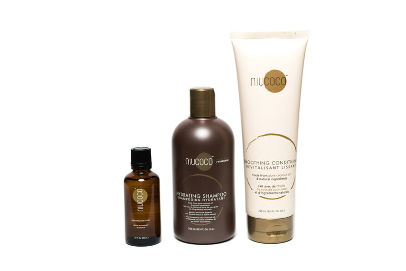 Essentials Bundle (Shampoo, Conditioner, Serum)