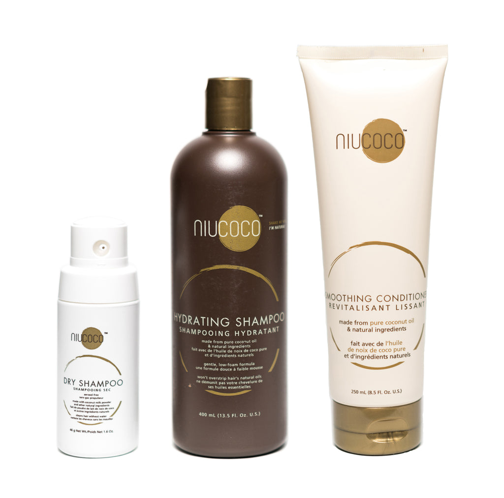 Full Body Bundle - Shampoo, Conditioner, Dry Shampoo