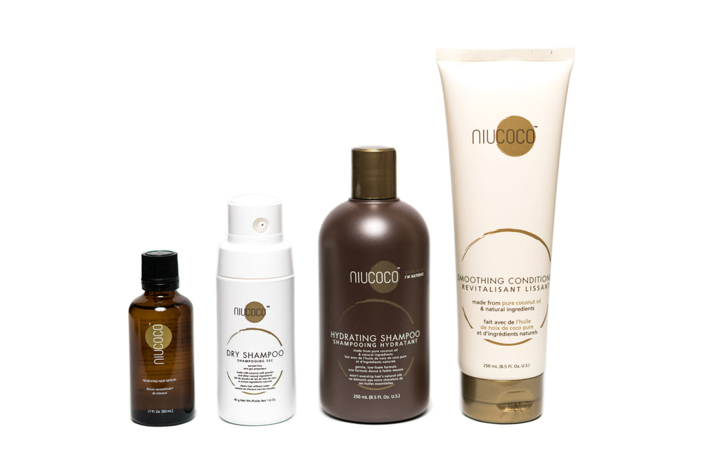 Complete Repair Bundle - 250ml Shampoo, 250ml Conditioner, 50ml Serum, 46g Dry Shampoo