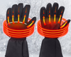 Waterproof Heated Gloves With Internal Battery - Exinoz