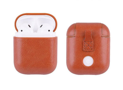 PU Leather Airpods Protective Case - Exinoz