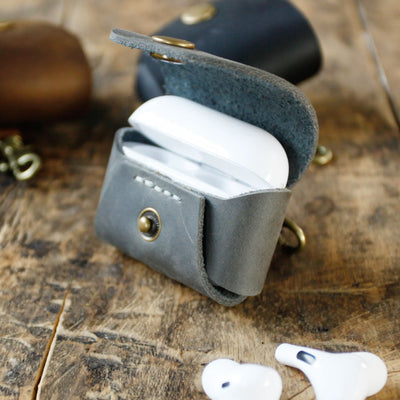 EXINOZ Handmade Leather Airpods Pro Case