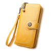 Split Leather Long Wallet for Women - Exinoz