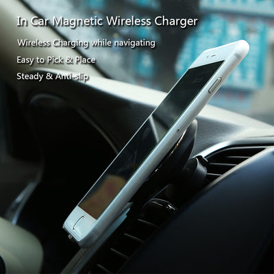Magnetic Wireless Car Charger - Exinoz