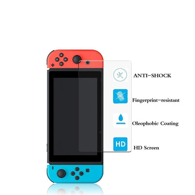 EXINOZ Nintendo Switch Screen Protector I High-quality Protection with 1-Year Replacement Warranty I Get the Best Protection for Your Nintendo Switch Console - Exinoz