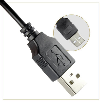 Exinoz Ultra Fast USB 3.0 Y Cable - Seagate Expansion 1TB & 2TB, Samsung M3, Toshiba, WD Elements External Hard Drive