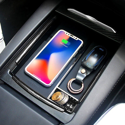 Car Wireless Charger Storage Box Container Pallet Tray