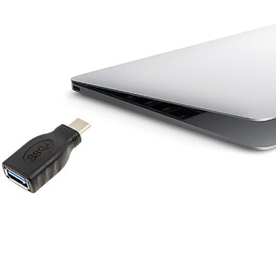 EXINOZ USB-C (Type-C) to 3.0 USB-A (Type-A) High-Speed Adapter Converter Connector