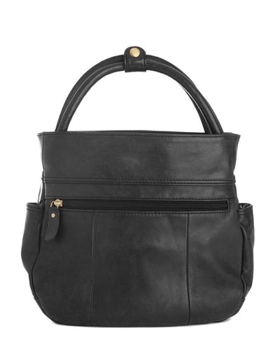 BISHOP BUCKET TOTE / CROSS BODY BAG - Exinoz