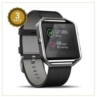 EXINOZ Fitbit Blaze Tempered Glass Screen Protector - Exinoz