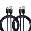 Exinoz USB Type C Cable Fast Charging USB C Cable (Any Colour 2 Pack Bundle)