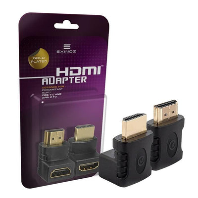 Exinoz HDMI Adapter Kit (90 Degree and 270 Degree)