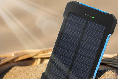 Waterproof Solar PowerBank