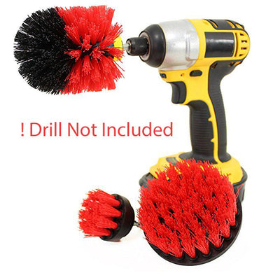Cleaning Brush (DRILL NOT INCLUDED)